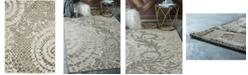 Bridgeport Home Pashio Pas3 Ivory 4' x 6' Area Rug