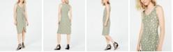 Ultra Flirt Juniors' Knot-Front Midi Dress
