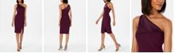 Vince Camuto One-Shoulder Dress