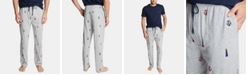 Nautica Men's Cotton Lighthouse-Print Pajama Pants