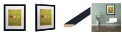 "Trademark Global Christian Jackson 'Oz Kid' Matted Framed Art - 16"" x 20"""