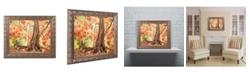 """Trademark Global Jason Shaffer 'Hang Tight' Ornate Framed Art - 20"""" x 16"""""""