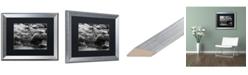 """Trademark Global Jason Shaffer 'Lake Erie Waves' Matted Framed Art - 20"""" x 16"""""""