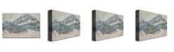 "Trademark Global Claude Monet 'Mount Kolsaas, Norway' Canvas Art - 24"" x 16"""