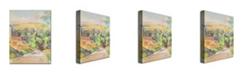 "Trademark Global Paul Cezanne 'Bend in the Road' Canvas Art - 32"" x 24"""