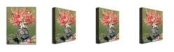 "Trademark Global Pierre Auguste Renoir 'Still life of Fruit and Flowers' Canvas Art - 32"" x 24"""