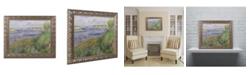 "Trademark Global Pierre Auguste Renoir 'The Banks of the Seine Champrosay' Ornate Framed Art - 11"" x 14"""