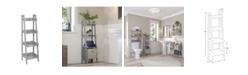 RiverRidge Home RiverRidge Amery Collection 4-Tier Floor Shelf