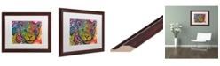 """Trademark Global Dean Russo 'Leopard' Matted Framed Art - 16"""" x 20"""""""