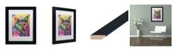 "Trademark Global Dean Russo 'Sadie Custom 5' Matted Framed Art - 11"" x 14"""