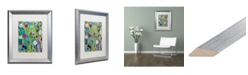 """Trademark Global Carrie Schmitt 'Verdant' Matted Framed Art - 16"""" x 20"""""""