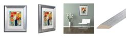 """Trademark Global Carrie Schmitt 'Here Comes The Sun' Matted Framed Art - 11"""" x 14"""""""