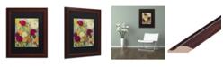 """Trademark Global Carrie Schmitt 'Secret Garden' Matted Framed Art - 11"""" x 14"""""""