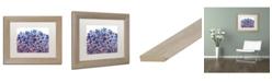 "Trademark Global Natasha Wescoat '009' Matted Framed Art - 11"" x 14"""