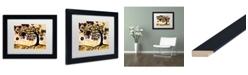 "Trademark Global Natasha Wescoat '010' Matted Framed Art - 11"" x 14"""