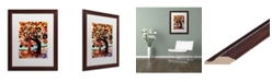 "Trademark Global Natasha Wescoat '072' Matted Framed Art - 16"" x 20"""