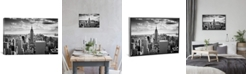 """iCanvas """"Nyc Downtown"""" by Nina Papiorek Gallery-Wrapped Canvas Print"""
