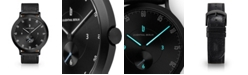 Lilienthal Berlin L1 All Black Leather Watch 42mm