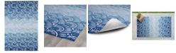 Kaleen Matira MAT10-17 Blue 2' x 3' Area Rug