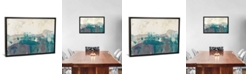 "iCanvas Teal Range I by Jennifer Goldberger Gallery-Wrapped Canvas Print - 26"" x 40"" x 0.75"""