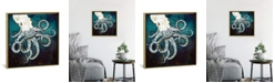 """iCanvas Underwater Dream Vii by Spacefrog Designs Gallery-Wrapped Canvas Print - 18"""" x 18"""" x 0.75"""""""
