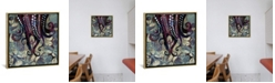 "iCanvas Metallic Ocean Ii by Spacefrog Designs Gallery-Wrapped Canvas Print - 18"" x 18"" x 0.75"""