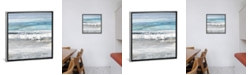 """iCanvas Tides I by Rachel Springer Gallery-Wrapped Canvas Print - 37"""" x 37"""" x 0.75"""""""