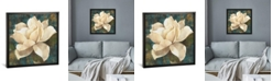 "iCanvas Gardenia Blossom Turquoise by Albena Hristova Gallery-Wrapped Canvas Print - 26"" x 26"" x 0.75"""