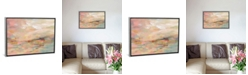 """iCanvas Pink Waves by Silvia Vassileva Gallery-Wrapped Canvas Print - 26"""" x 40"""" x 0.75"""""""