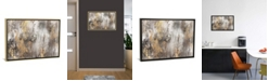"""iCanvas """"Gold Ikat"""" by Pi Galerie Gallery-Wrapped Canvas Print"""