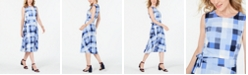 Charter Club Plaid Midi Dress, Created for Macy's