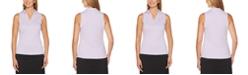 PGA TOUR Airflux Sleeveless Golf Polo Shirt