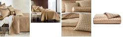 Hotel Collection Deco Embroidery Full/Queen Coverlet, Created for Macy's