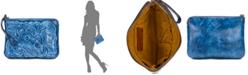 Patricia Nash Burnished Tooled Cassini Wristlet
