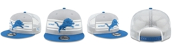 New Era Detroit Lions Classic 77 Stripe Mesh 9FIFTY Cap