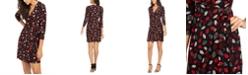 Anne Klein Sonoma Coast Printed Wrap Dress