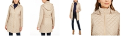 Via Spiga Quilted Hooded Jacket