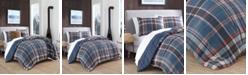 Eddie Bauer Shasta Lake Navy Comforter Set, Full/Queen