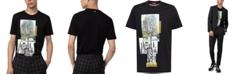 HUGO Men's Tree Graphic T-Shirt