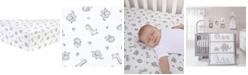 Trend Lab Chevron Safari Flannel Crib Sheet