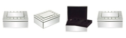 Howard Elliott Mirrored Rectangular Jewelry Box