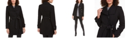 INC International Concepts INC Asymmetrical Belted Coat, Created for Macy's