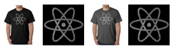 LA Pop Art Men's Word Art T-Shirt - Atom
