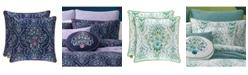 "J Queen New York Kayani 18"" Square Decorative Throw Pillow"
