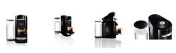 Nespresso Black VertuoPlus Deluxe Coffee and Espresso Machine by De'Longhi