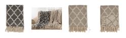 Saro Lifestyle Moroccan Tile Design Throw