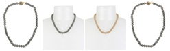 MIRIAM HASKELL 8 mm Pearl Strand Necklace