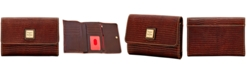 Dooney & Bourke Lizard Leather Flap Wallet