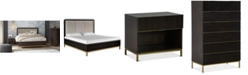 Furniture Hotel Collection Derwick Bedroom, 3-Pc. Set (California King Bed, Nightstand & Chest), Created for Macy's