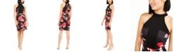 Trina Turk Kathleen Floral-Print Bodycon Dress